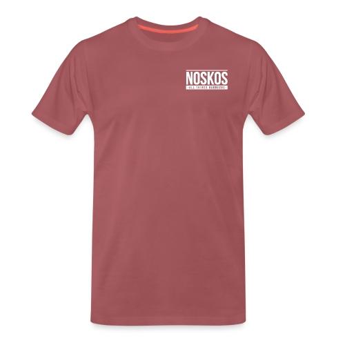 noskoslogo png - Mannen Premium T-shirt