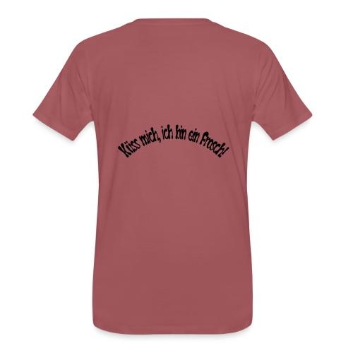 Küss mich, ich bin ein Frosch! - Männer Premium T-Shirt