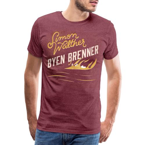 Simon Walther - Byen Brenner - Men's Premium T-Shirt