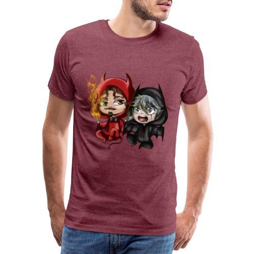 Chibis Halloween - T-shirt Premium Homme