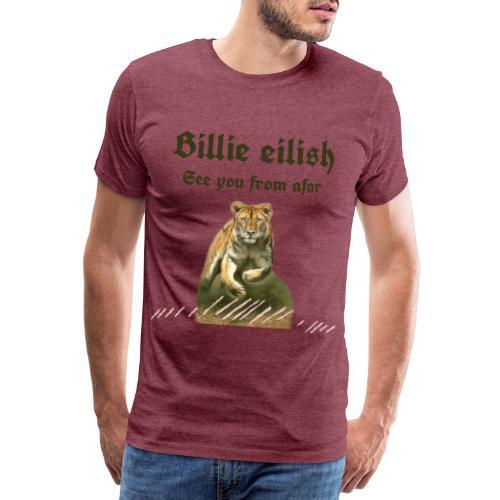 t-shirt Billie eilish dee you from afar 2020 - Camiseta premium hombre