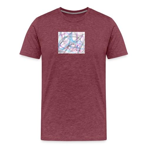 GLOW - Premium-T-shirt herr