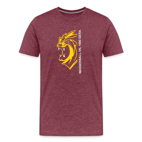 Vfl Gera Pixel 08 DF - Männer Premium T-Shirt
