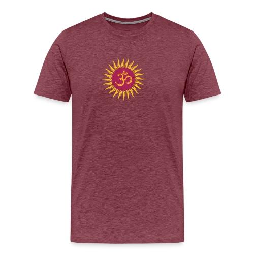 Om Sonne, Buddhismus, Yoga, spirituell, Meditation - Männer Premium T-Shirt