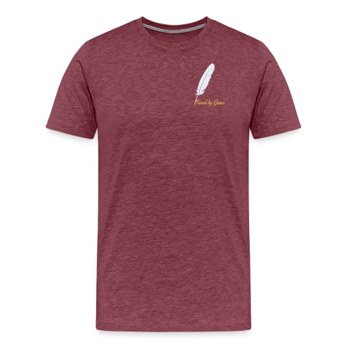 Saved by Grace - Männer Premium T-Shirt