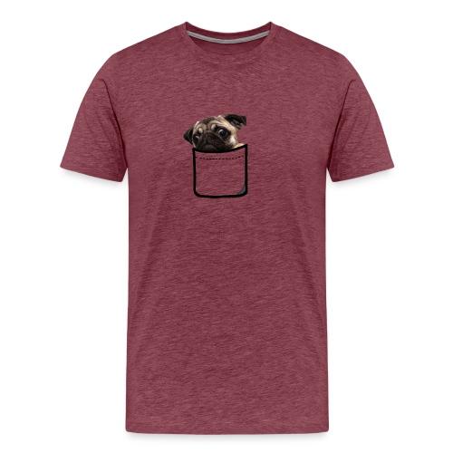 POCKET DOGGY - Maglietta Premium da uomo