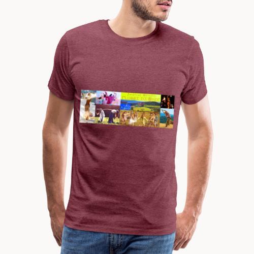 Locandina #festivalflussidionde - Maglietta Premium da uomo