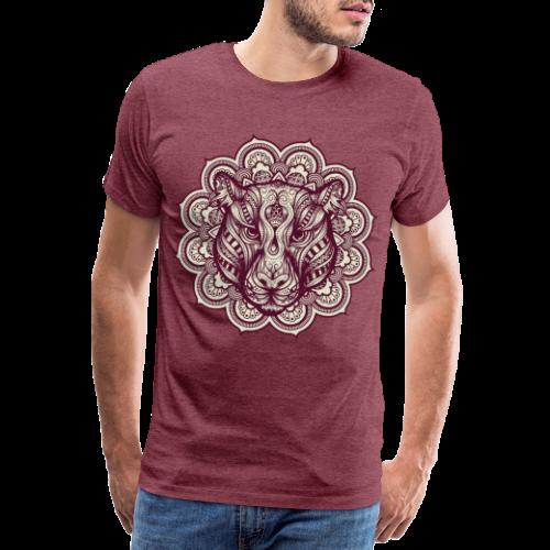 Mandala Tiger - Men's Premium T-Shirt
