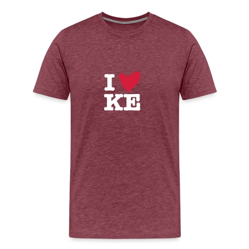 I KE - Männer Premium T-Shirt