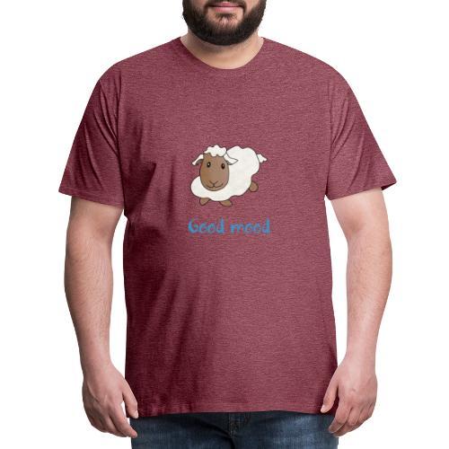 Nadège le petit mouton blanc - T-shirt Premium Homme