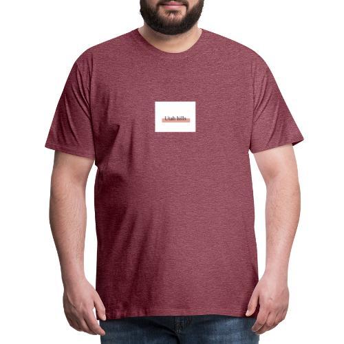 Utah hillss - Herre premium T-shirt
