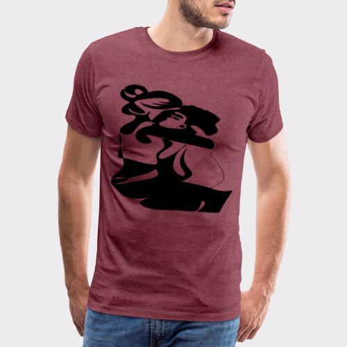 In Deinen Armen Liebespaar - Männer Premium T-Shirt