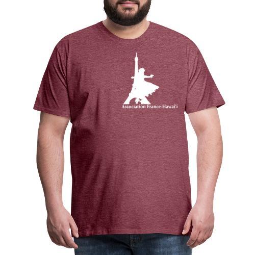 logo asso AFH 170312, blanc - T-shirt Premium Homme