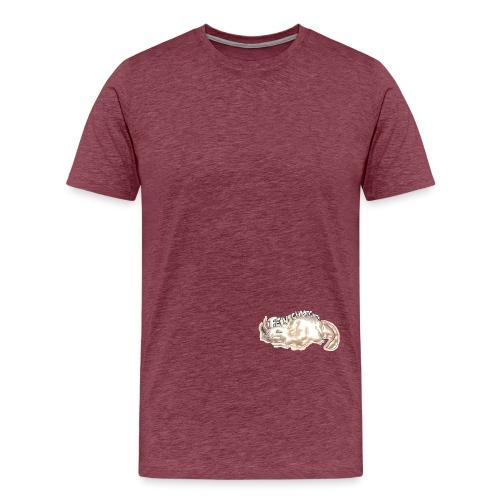 Axolotl Pulli - Männer Premium T-Shirt
