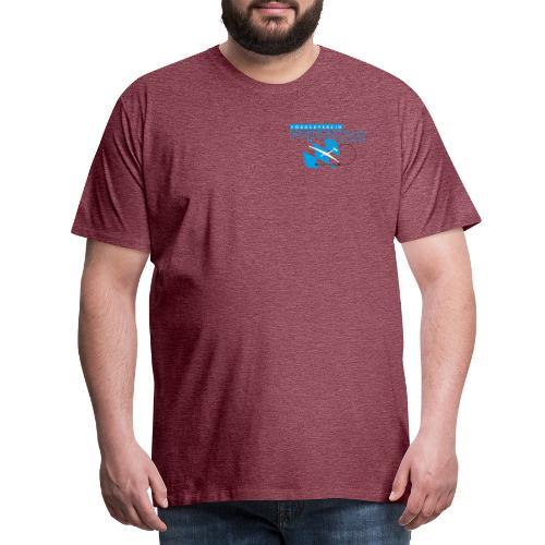 Design 01 (2-facher Druck vorne und hinten) - Männer Premium T-Shirt