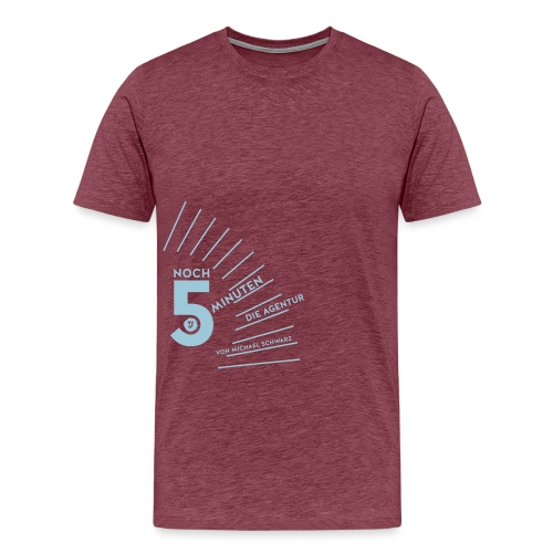 5 Minuten - Männer Premium T-Shirt
