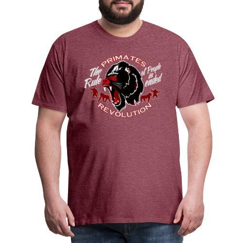 Primates Revolution - Männer Premium T-Shirt