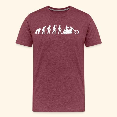 Evolution - Maglietta Premium da uomo