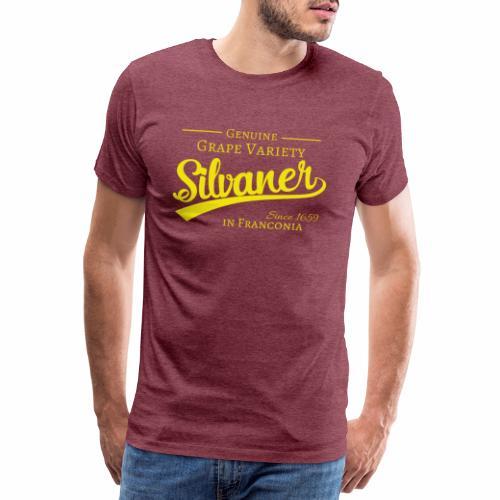 Genuine Grape Variety - Silvaner - Männer Premium T-Shirt