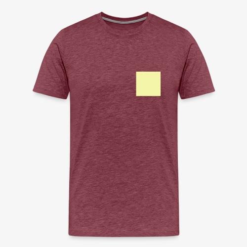 Pastel Yellow - T-shirt Premium Homme