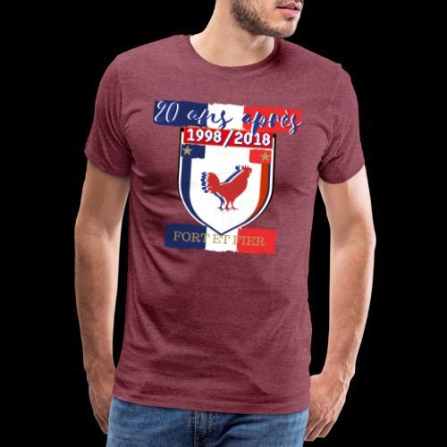 france FRANCE foot coupe du monde football - T-shirt Premium Homme