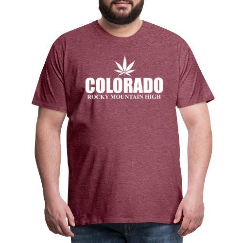 rocky mountain high - T-shirt Premium Homme