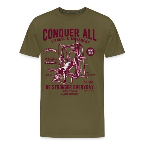 Conquer All2 - T-shirt Premium Homme