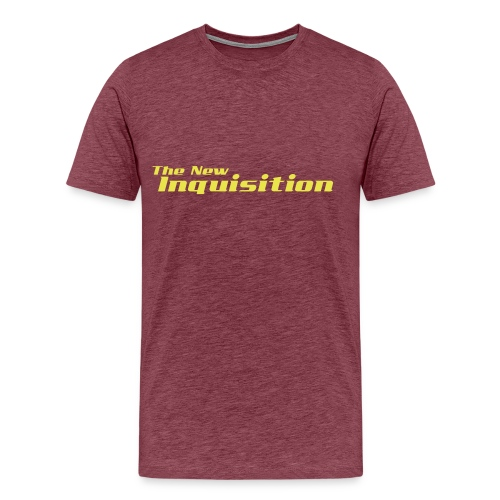 the new inquisition - Herre premium T-shirt