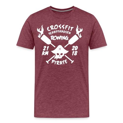 CrossfitROW_21km - Männer Premium T-Shirt
