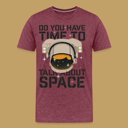 Time for Space - Koszulka męska Premium