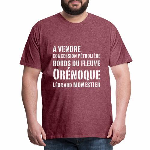 Une concession dans l'Orénoque ! - T-shirt Premium Homme
