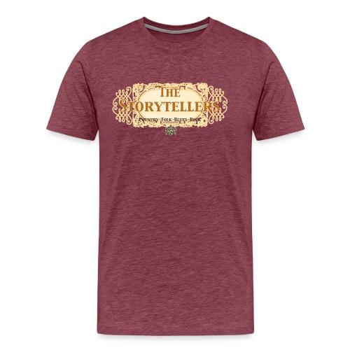 Storytellers transp - Männer Premium T-Shirt