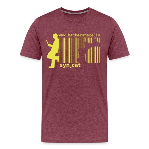 syn2cat hackerspace - Men's Premium T-Shirt