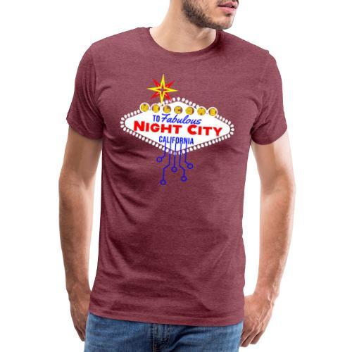 Cyber Punk Night City 2077 - Männer Premium T-Shirt