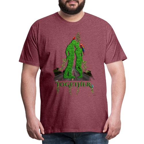 Together love nature by T-shirt chic et choc - T-shirt Premium Homme