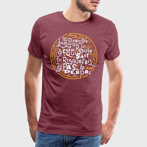 Aimer vivre et se perdre - T-shirt Premium Homme
