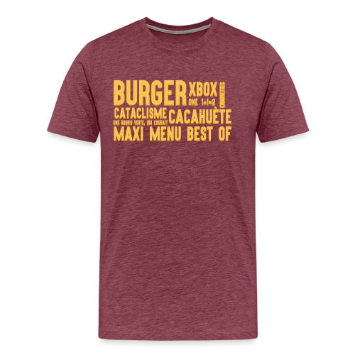 bc png - T-shirt Premium Homme