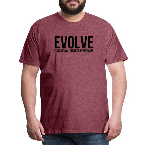 evolve - Premium-T-shirt herr