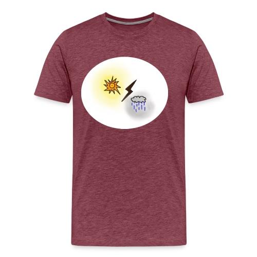 Soleil et nuage - T-shirt Premium Homme