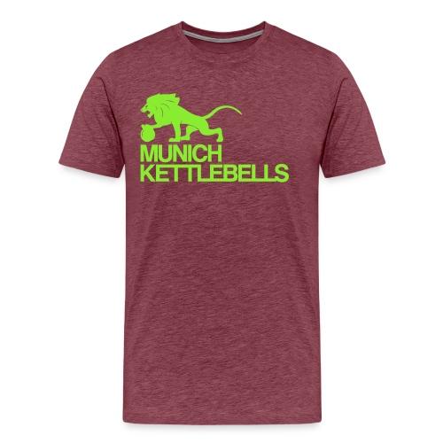 Logo MKBgreen copy png - Männer Premium T-Shirt
