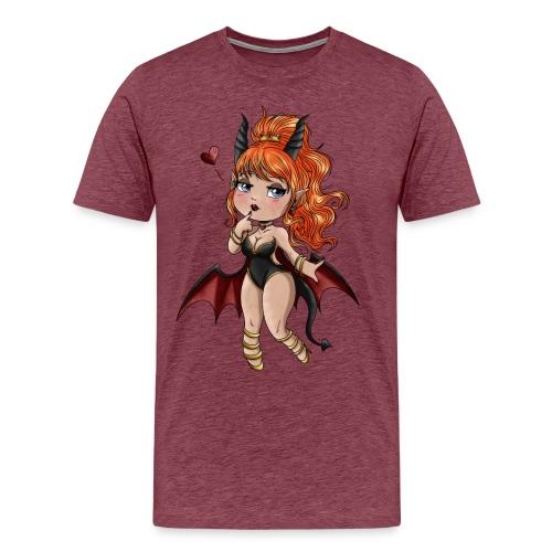 Chibi Diablesse - T-shirt Premium Homme