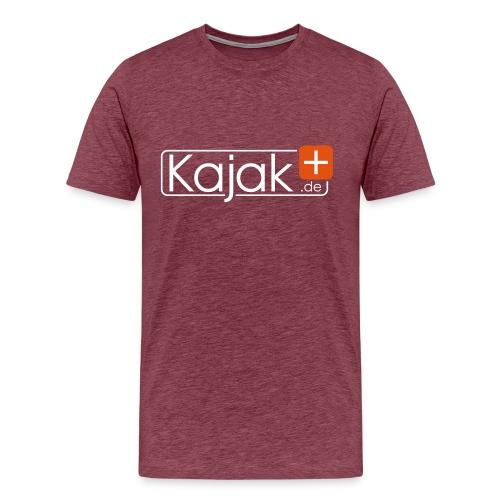 Kajak white - Männer Premium T-Shirt