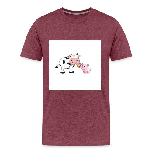 KuhSchwein - Männer Premium T-Shirt