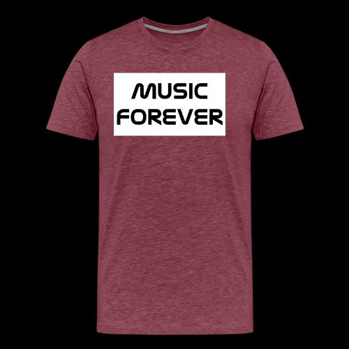 Music Forever - Männer Premium T-Shirt
