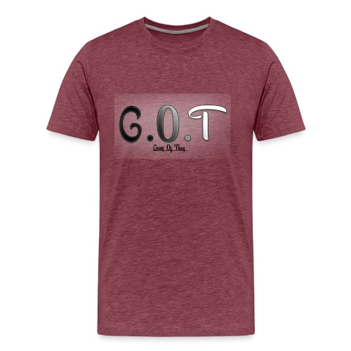 logo GOT png - T-shirt Premium Homme