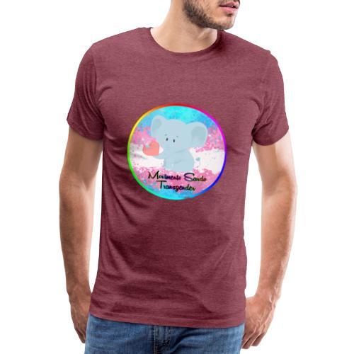 Logo Dell'Associazione Movimento Sardo Transgender - Maglietta Premium da uomo