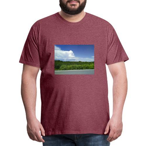 prato verde - Maglietta Premium da uomo