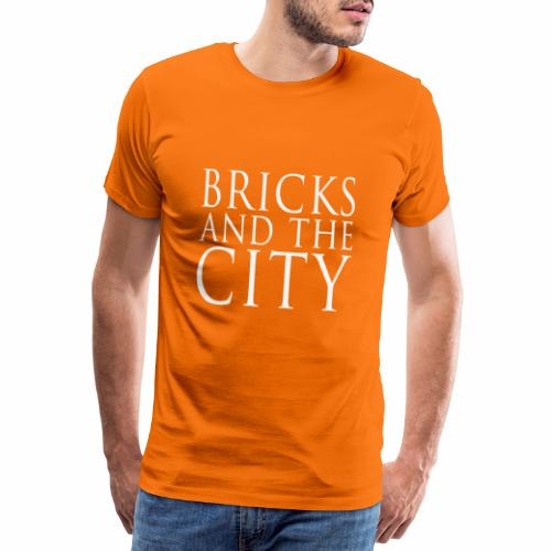 Bricks and the City (square) - Maglietta Premium da uomo