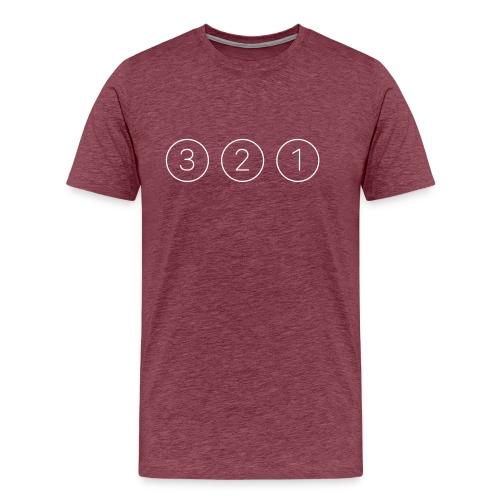 321 bianco - Maglietta Premium da uomo
