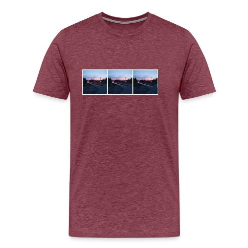 Autobahn mal 3 - Männer Premium T-Shirt